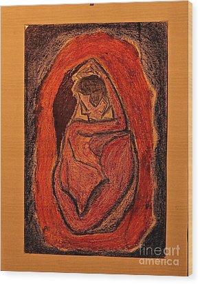Power  Of  Love... Love...love ... Wood Print by  Andrzej Goszcz