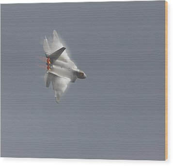 Wood Print featuring the photograph Power Of The Raptor by Nathan Rupert