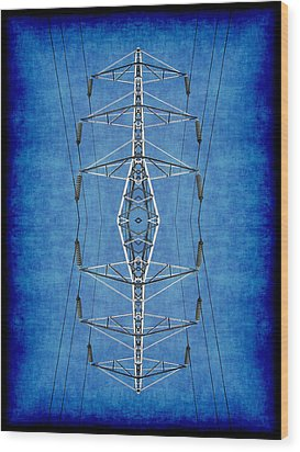 Power Up 3 Wood Print by Wendy J St Christopher