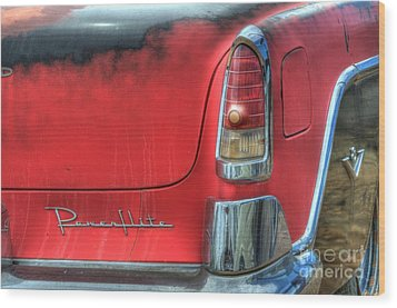 Powerflite Wood Print by Bob Christopher