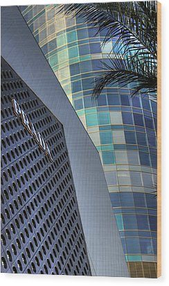 Wood Print featuring the photograph Prada Patterns by Glenn DiPaola