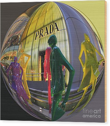 Prada Wood Print by Scott Cameron