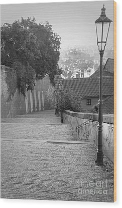 Wood Print featuring the photograph Prague by Art Photography