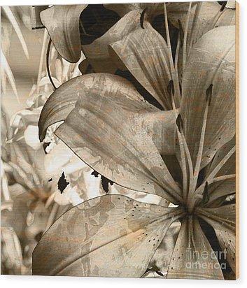 Pram Wood Print by Yanni Theodorou