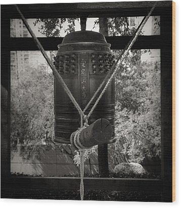 Wood Print featuring the photograph Prayer Bell by Darryl Dalton