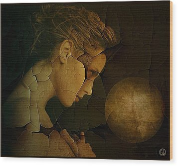 Prayer For Wholeness Wood Print by Gun Legler