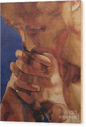 Prayer Wood Print by Graham Dean