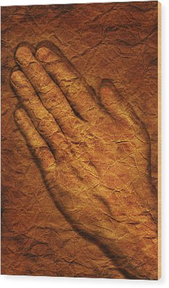 Praying Hands Wood Print by Don Hammond