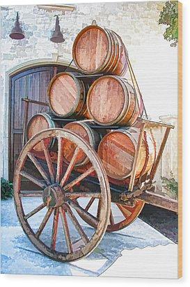 Precious Cargo Wood Print by Samuel Sheats