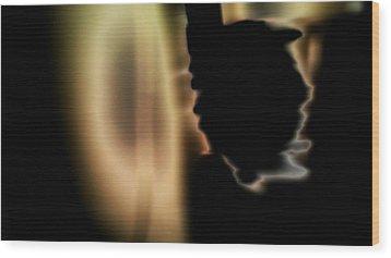 Presence 3 Wood Print by Paulo Guimaraes