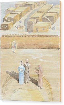Presentation Wood Print by John Meng-Frecker
