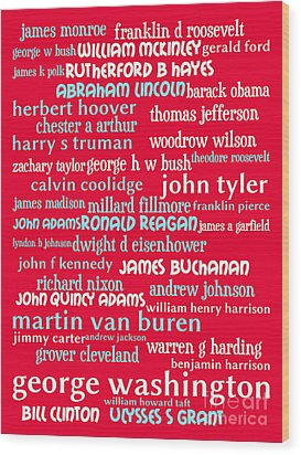 Presidents Of The United States 20130625p120 Wood Print
