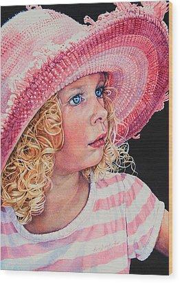 Pretty In Pink Wood Print by Hanne Lore Koehler