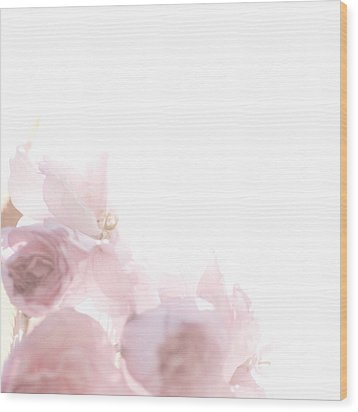 Wood Print featuring the photograph Pretty In Pink - The Dancer by Lisa Parrish