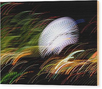 Wood Print featuring the photograph Pretty Little Cosmo - 2 by Larry Knipfing