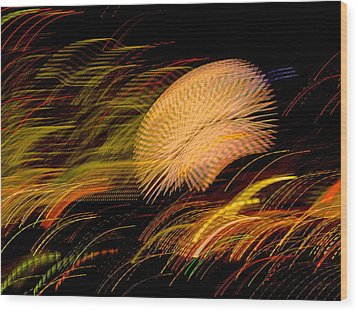 Wood Print featuring the photograph Pretty Little Cosmo - 10 by Larry Knipfing