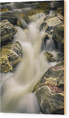 Priest Creek Wood Print