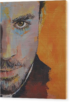 Priest Wood Print by Michael Creese