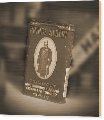 Prince Albert In A Can Wood Print by Mike McGlothlen