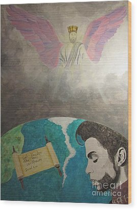 Prince And Prayer Wood Print