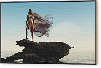 Princess Of Mars... Wood Print by Tim Fillingim
