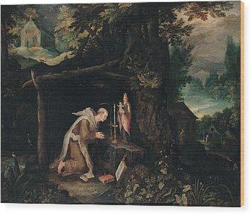 Probably Bruegel Jan Called Bruegel Wood Print by Everett