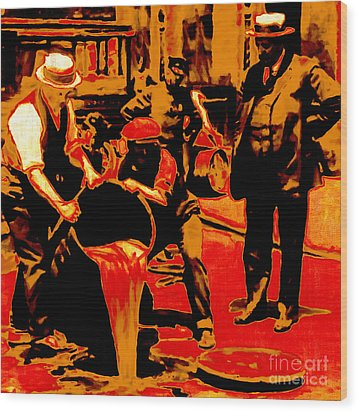 Prohibition 20130218 Wood Print by Wingsdomain Art and Photography