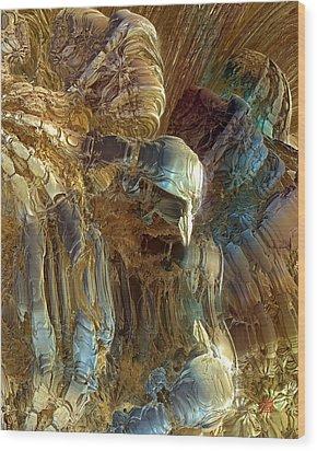 Prometheus 4 Wood Print by David Jenkins