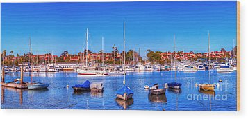 Wood Print featuring the photograph Promontory Point - Newport Beach by Jim Carrell