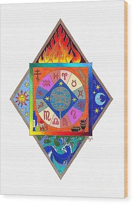Prophecy Wood Print