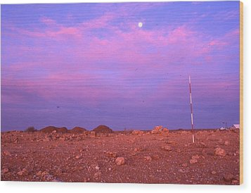 Prospecting Rod South Africa 1996 Wood Print by Rolf Ashby