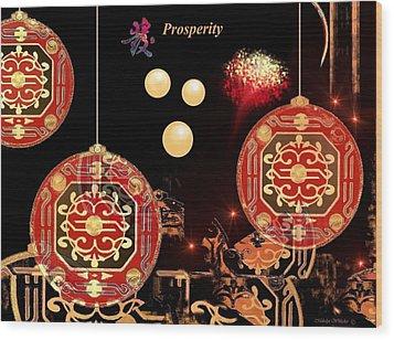 Prosperity Wood Print