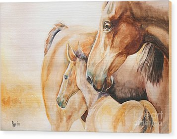 Protection Wood Print by Tamer and Cindy Elsharouni