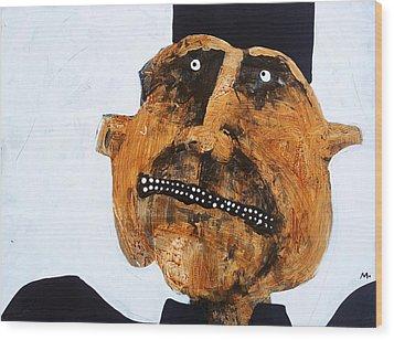 Protesto No. 11 Wood Print by Mark M  Mellon