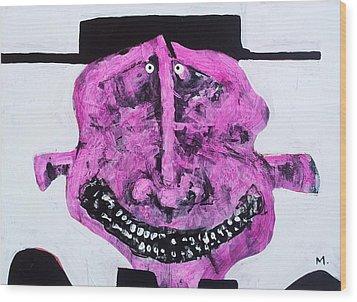 Protesto No. 6 Wood Print by Mark M  Mellon