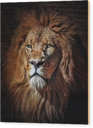 Proud N Powerful Wood Print by Elaine Malott