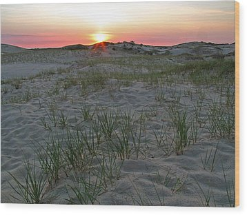 Provinceland Dunes Wood Print by Juergen Roth