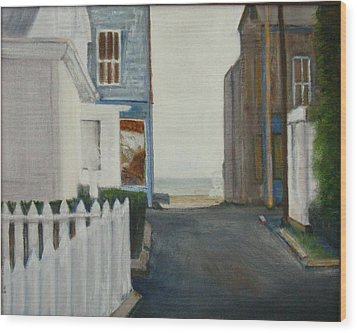 Provincetown Wood Print
