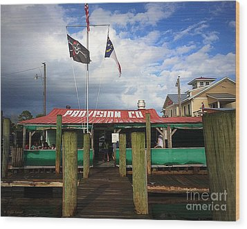 Provision Co - Southport Nc Wood Print