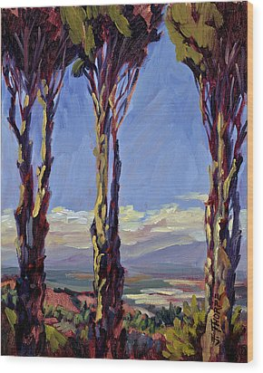 Pruned For The View Wood Print by Jane Thorpe