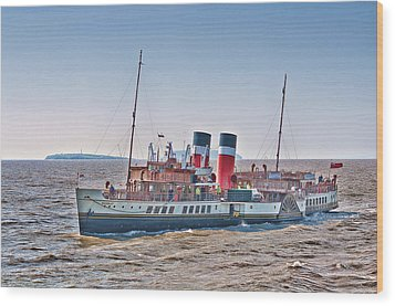 Ps Waverley Approaching Penarth Wood Print