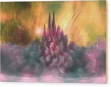Psychedelic Tendencies   Wood Print