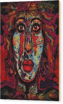 Psychic Wood Print by Natalie Holland