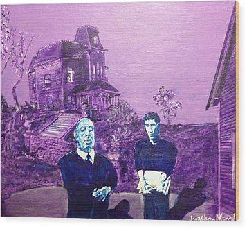 Psycho Set Wood Print