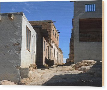 Wood Print featuring the photograph Pueblo Pathway by Debby Pueschel