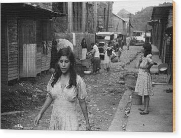 Puerto Rico Slum, 1942 Wood Print by Granger