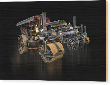 Wood Print featuring the photograph Pulling Power  by Stewart Scott