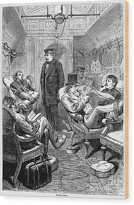 Pullman Car, 1876 Wood Print by Granger