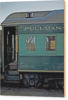 Wood Print featuring the photograph Pullman by Cheri Randolph