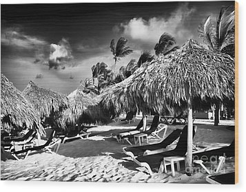 Punta Cana Choices Wood Print by John Rizzuto